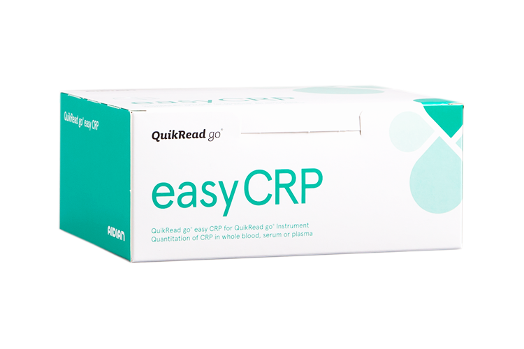 QuikRead go easy CRP kit box