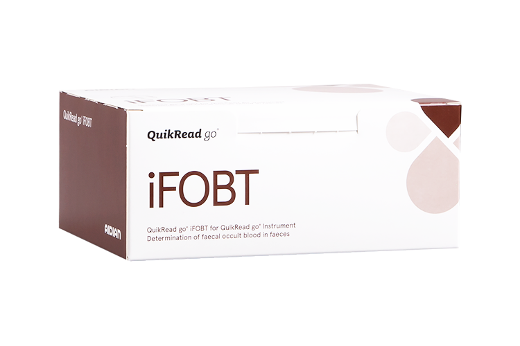QuikRead go iFOBT kit box